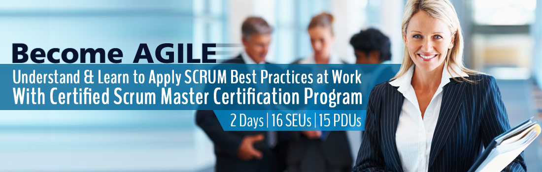 agile - certified scrummaster certification program